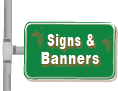 Link to signs and banners