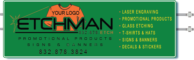 Upper sign Etchman promotional products